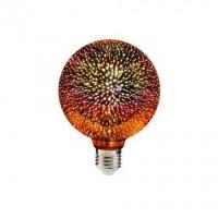 BEC LED DECO  E27 G95 3D ROSU