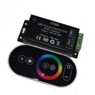 CONTROLLER RGB 3X6A, TELECOMANDA CU TOUCH