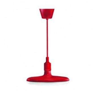 Pendul cu LED Rosu, 32W  Alb Cald