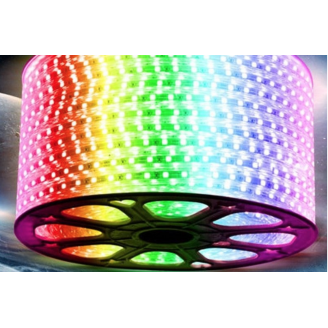BANDA LED SMD 5050, 300LED 5M, RGB IP64 - ECO
