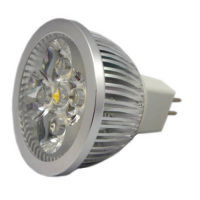 SPOT LED MR16 5W ALB RECE