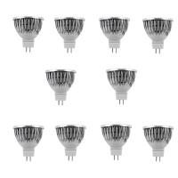 SET 10 SPOTURI LED MR16 3W ALB RECE